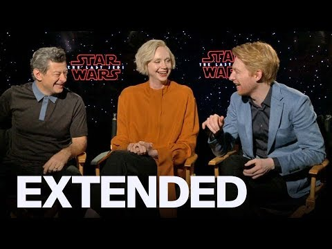 Download Youtube: Gwendoline Christie, Andy Serkis, Domhnall Gleeson Talk 'Star Wars: The Last Jedi' | EXTENDED