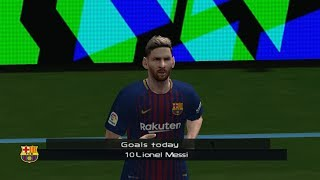 PES 6 Goals Compilation #1 #2018  HD 1080P 60FPS ️⚽