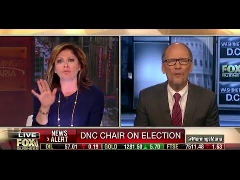 Maria Bartiromo Shouts Down Tom Perez Over DNC Rigging Election