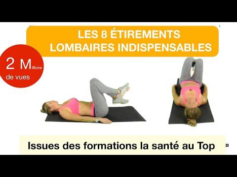 Les 8 étirements lombaires indispensables pour ne plus avoir mal au dos (ancienne version test)