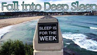 Deep Sleep Music| Fall into Deep Sleep Instantly| Ocean Waves| Calming Effect