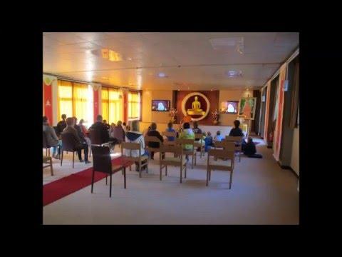 Introducing Dhammakaya Meditation Orientation During Retreat