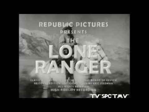 1938 The Lone Ranger Serial Intro