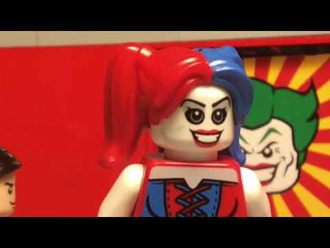 Lego Joker and Harley Quinn