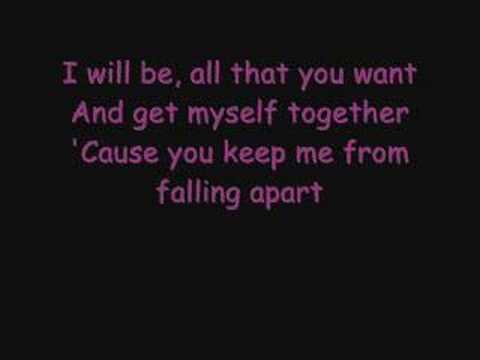 Avril Lavigne - I will be lyrics