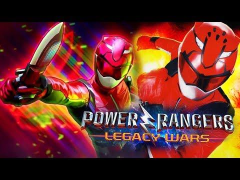 Power Rangers Legacy Wars - Devon Beast Morphers Red Ranger Gameplay