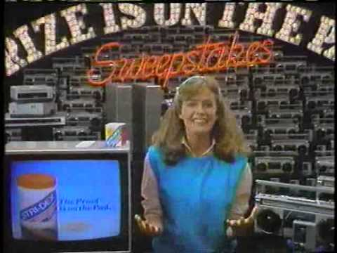 Elisabeth Shue 1983 Stridex Sweepstakes Commercial