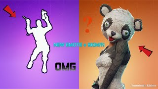 *NEW* P.A.N.D.A TEAM LEADER SKIN AND LLAMA BELL EMOTE GAMEPLAY!!!!! | Fortnite Battle Royale