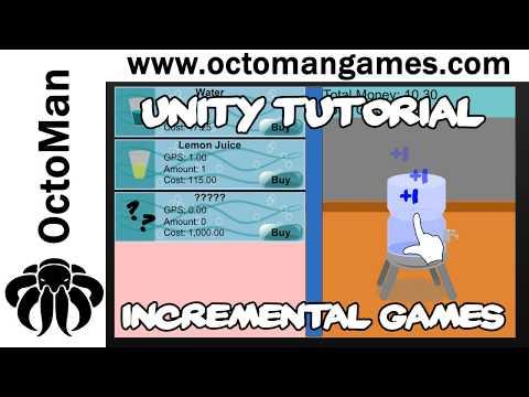 unity tutorial idle clicker