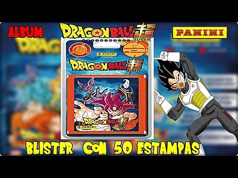 Dragon Ball Super Album Panini Blister con 50 Estampas l Unboxing