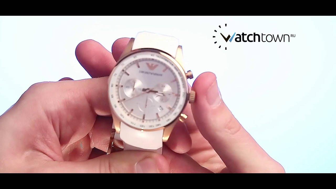 c8d208929df Обзор часов Emporio Armani AR5979 - YouTube