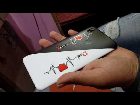 Mom and dad mobile lamination !! mobile cover design!! vivo v9,v9 pro,v11 pro, v15pro