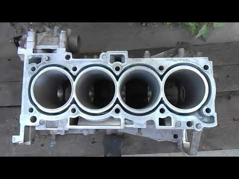 Kia/Hyundai Гильзовка блока цилиндров G4KE