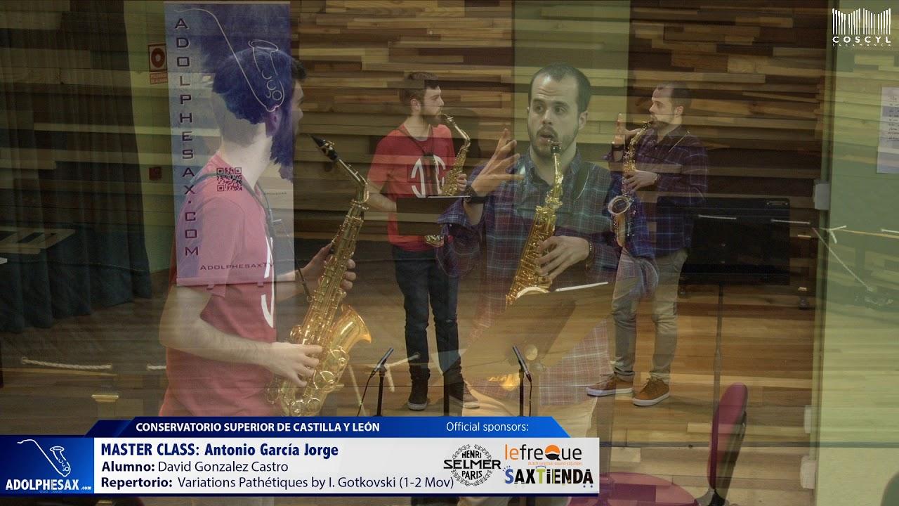 MASTER CLASS - Antonio Garcia Jorge - David Gonzalez Castro (COSCYL)