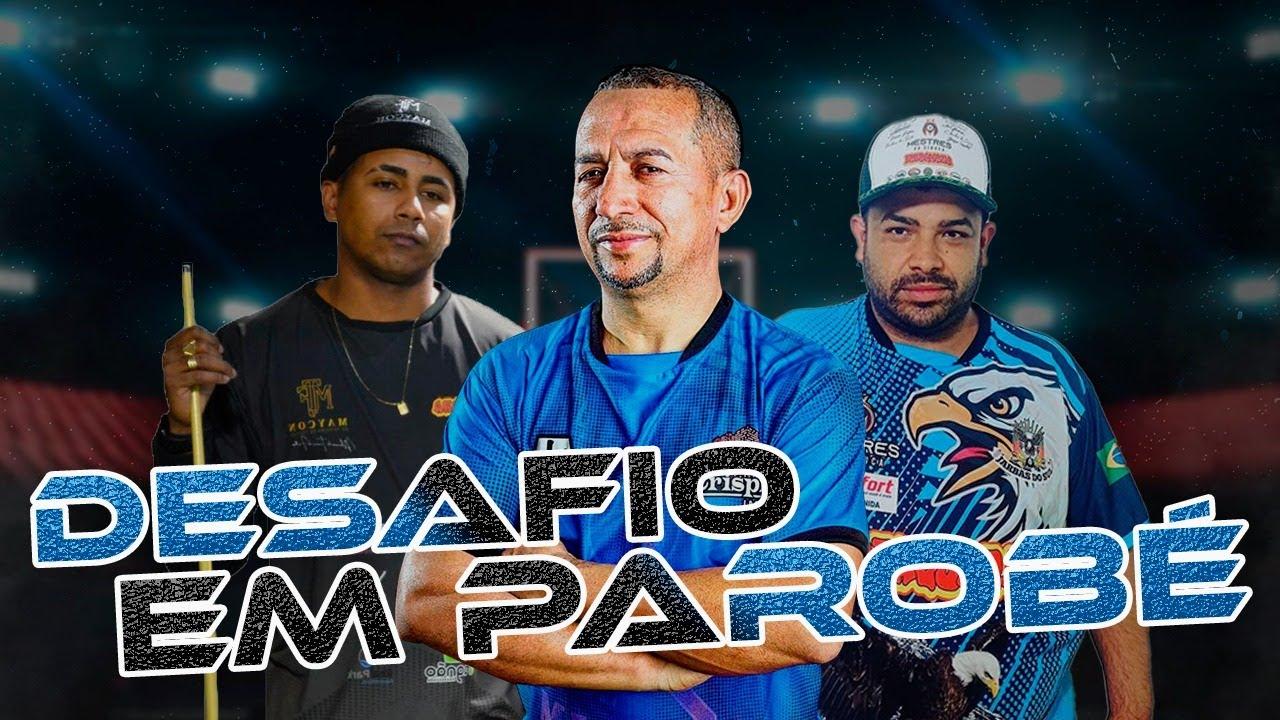 Download BAIANINHO X MAYCON X JARBAS EM PAROBÉ  SINUCA AO VIVO 23/10/2021