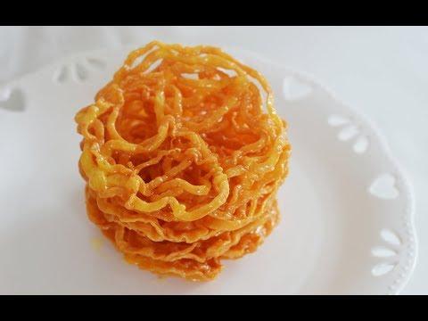 Zoolbia Recipe, A Traditional Persian Sweet Recipe