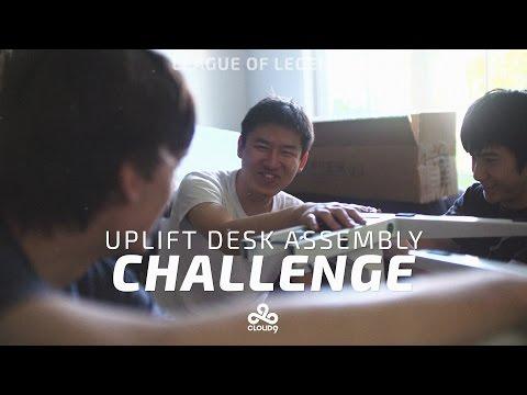Ergonomic Gaming Desk   UPLIFT Desk