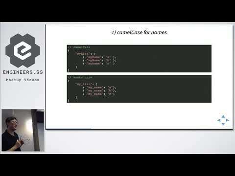 Designing Developer-Friendly JSON For API Responses - Singapore PHP User Group