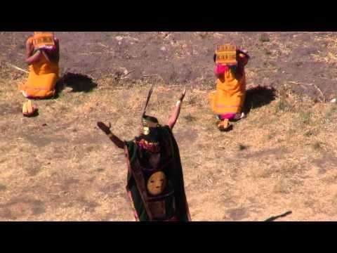 Inca: Celebration Of Mother Earth (Pachamama) At Moray Near Cuzco