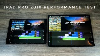iPad Pro 2018 Video Editing Performace Test