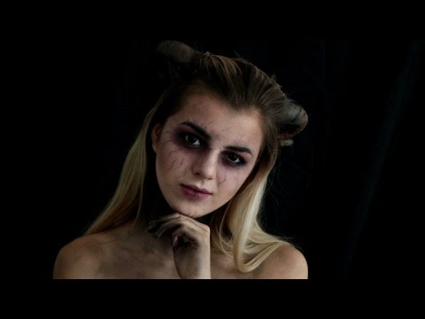 MAQUILLAGE D'HALLOWEEN: DEMON/DIABLE streaming vf