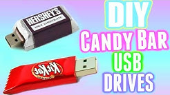 DIY Candy Bar USB Drives! Make Chocolate Bar USB Drives!