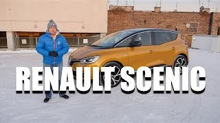 Renault Scenic 2017 (ENG) - Test Drive and Review