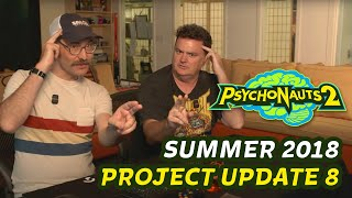 Psychonauts 2 - Project Update 8 - Psychic Powers!