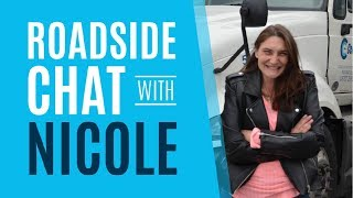 Roadside Chat: Celadon Driver Nicole