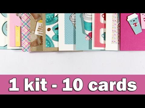 1 kit - 10 cards | February 2017