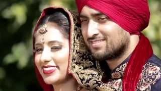 Sikh Punjabi Wedding Highlights Milton of Ravi + Nikki