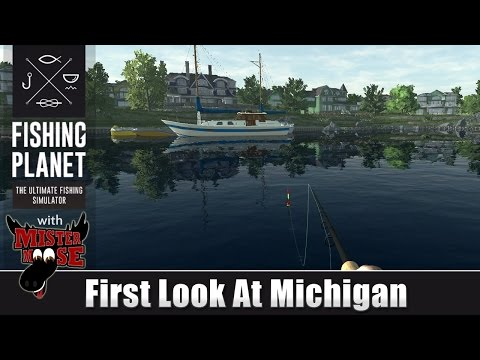 Fishing Planet - First Look At Michigan