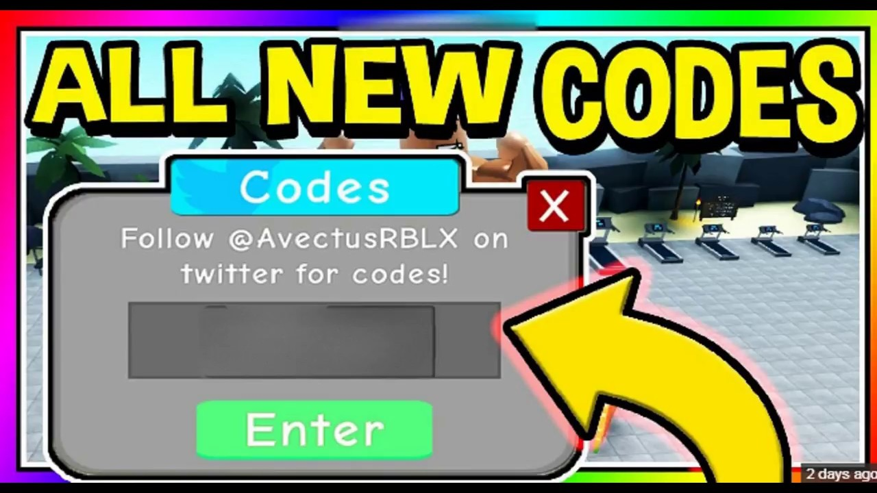 3 *NEW* CODES IN Weight Lifting Simulator 3 (ROBLOX)