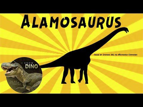 Alamosaurus: Dinosaur of the Day