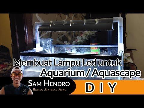 mudah-membuat-lampu-aquarium-atau-aquascape- -lampu-led-putih