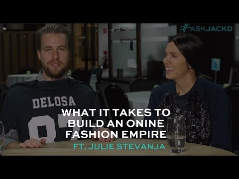 What It Takes to Build an Online Fashion Empire with Julie Stevanja   #AskJackD230