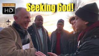 P1 - Seeking God! Mansur Vs Christian Gentleman | Speakers Corner | Hyde Park