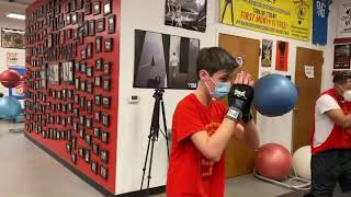 Boxing head movement drills