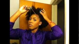 Natural hair puff Thumbnail