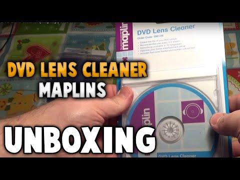 DVD Lens Cleaner (Maplin)   UNBOXING