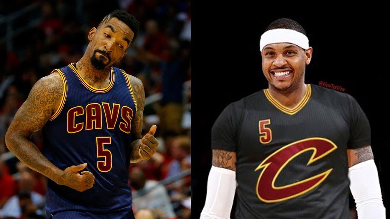 Carmelo Anthony & JR Smith are Teammates Again! - YouTube