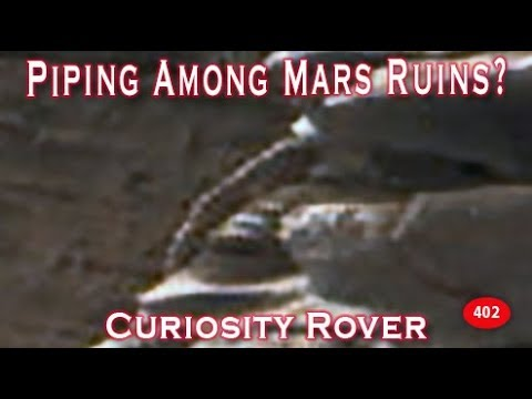 Possible Tube / Piping Found By Curiosity Rover