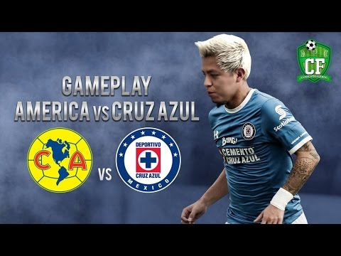 GAMEPLAY - AMERICA VS CRUZ AZUL
