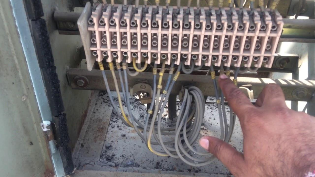 66 KV LINE CURRENT TRANSFORMER WIRING CONNECTION Abb Current Transformer Wiring Diagram on