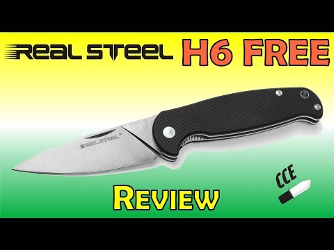Review of the Real Steel Knives H6 FREE - 2 Hand Opener