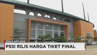 Dijual! PSSI Rilis Harga Tiket Final Piala AFF Indonesia Vs Thailand