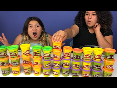 Don't Choose the Wrong Play-Doh Slime Challenge