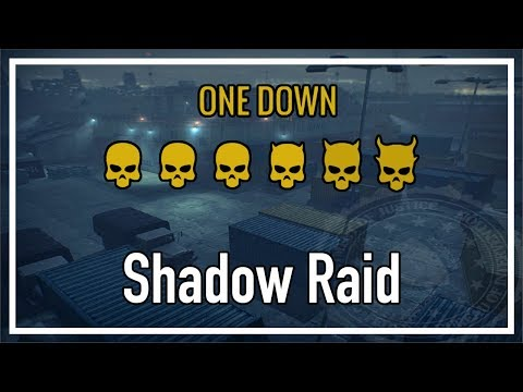 Payday 2 One Down - Shadow Raid (Solo Stealth)