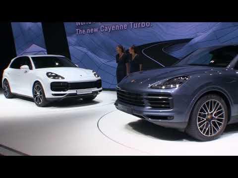 El nuevo Porsche Cayenne en el Salón de Frankfurt 2017
