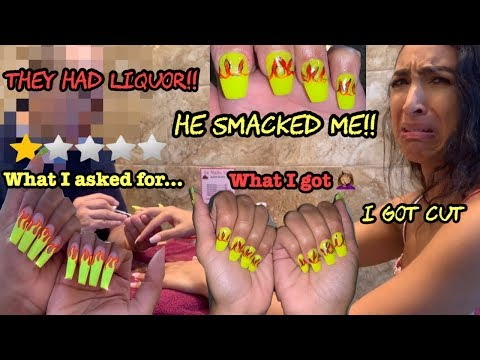 I Went To The Worst Reviewed Nail Salon In Texas Youtube